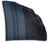 Alexander Olch Stripe Linen Pocket Round