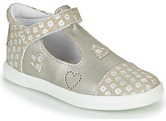 GBB ANISA girls's Shoes (Trainers) in Beige