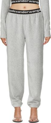 Alexander Wang Grey Corduroy Lounge Pants