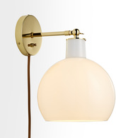 Rejuvenation Edendale Straight Articulating Plug-In Sconce