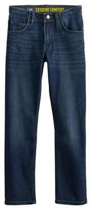 Lee Boys Xtreme Comfort Straight Tapered Jeans Sizes 4-18 & Husky