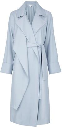Viktoria & Woods Freshman Light Blue Belted Trench Coat