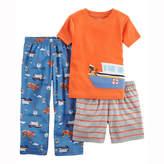 Carter's 3-pc. Pajama Set - Toddler Boys 2T-5T