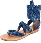 Soludos Indigo Bandana Sandals