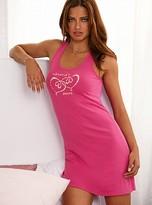 Victoria's Secret Signature Cotton Racerback chemise