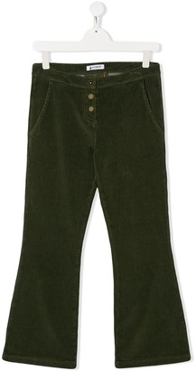 Dondup Kids TEEN bootcut corduroy trousers