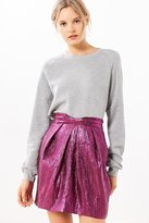 Silence & Noise Silence + Noise Purple Rain Mini Skirt