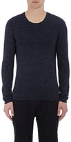 Vince Men's Thermal-Stitched T-Shirt-NAVY