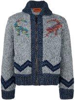 Missoni zipped chunky knit cardigan