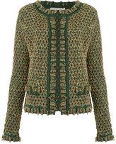 Cecilia Prado knit cardigan - women - Acrylic/Lurex/Spandex/Elastane - PP