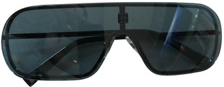 Givenchy Blue Metal Sunglasses