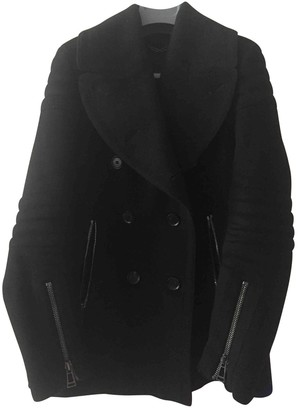 Belstaff Black Wool Coat for Women