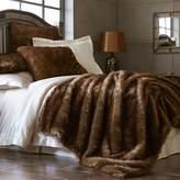 Pier 1 Imports Ombre Faux Fur Mink Blanket & Sham