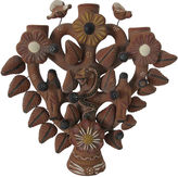 One Kings Lane Vintage Mexican Tree of Life Candleholder