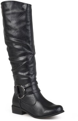 Brinley Co. Womens Knee-High Riding Boot