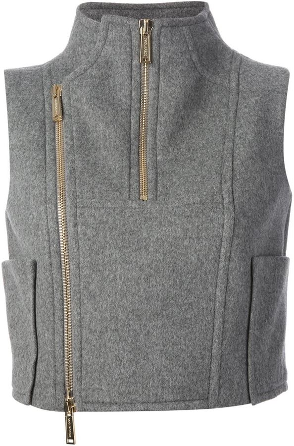 DSquared DSQUARED2 biker style gilet