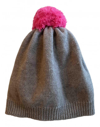 Chinti and Parker Grey Cashmere Hats