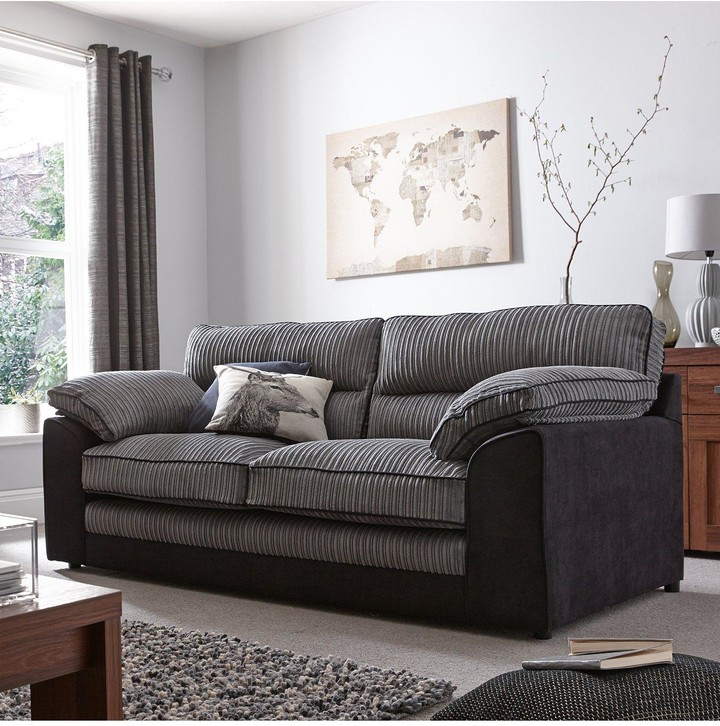 Thumbnail for your product : Very Delta 3-Seater Sofa