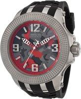Invicta Men's 12477 Subaqua Analog Swiss-Quartz Black Watch