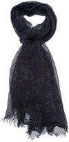 Dolce & Gabbana faded print scarf