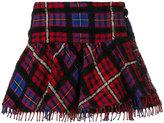 Hilfiger Collection tartan mini skirt