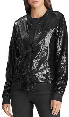 Ralph Lauren Sequined Bomber Jacket