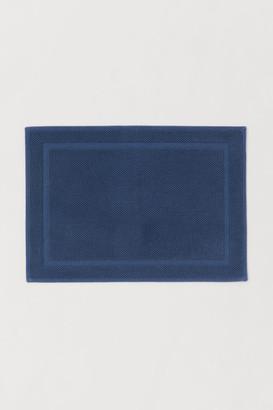 H&M Bath Mat - Blue