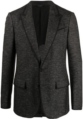 Dolce & Gabbana Piped Trim Blazer