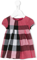 Burberry checked dress - kids - Cotton - 6 mth