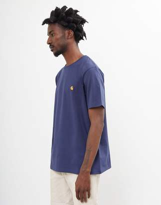 Carhartt Wip WIP - Chase Short Sleeve T-Shirt Navy