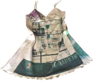 Replay Multicolour Silk Dress for Women