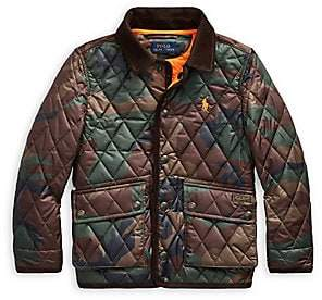 Ralph Lauren Little Boy's & Boy's Kempton Camouflage Quilted Jacket
