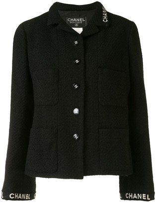 Chanel Pre Owned 1995 Single-Breasted Long Sleeve Jacket