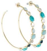 Ippolita 18K Rock Candy Gelato Hoop Earrings w/ Tags