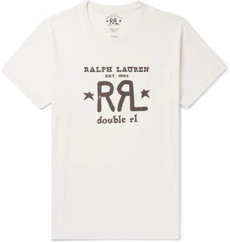 Ralph Lauren RRL Logo-Print Cotton-Jersey T-Shirt