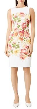 Hobbs London Fiona Floral Sheath Dress
