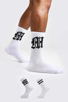 boohoo Gothic M Two Pack Socks
