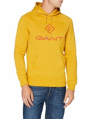 Gant Men's D1. Color Lock Up Hoodie Hooded Sweatshirt