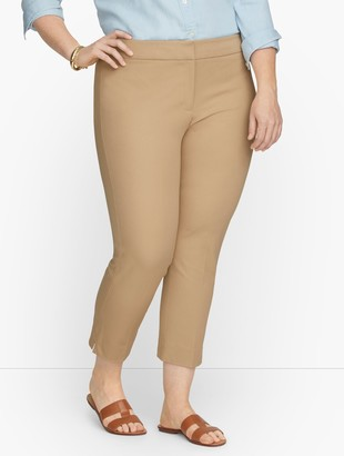 Talbots Chatham Front Zip Crop Pants