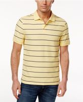 Club Room Men's Striped Pique Polo, Only at Macy's