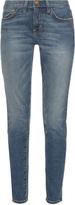 Current/Elliott The Mamacita mid-rise straight jeans