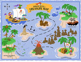 Elephants on the Wall: Pirate Pete's Treasure Map D-I-Y Paint A Mural