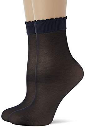 Levante Women's Steps Salvapiede 2 Paia Ankle Socks,9/11/2019 (size: 42/45)