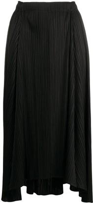 Pleats Please Issey Miyake high-rise pleated midi skirt