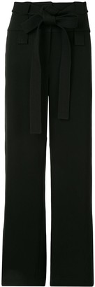 Dion Lee Belted High-Waisted Trousers