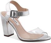 Nina Shirley Block-Heel Evening Sandals