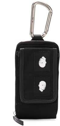 Rick Owens coin-pouch keyring