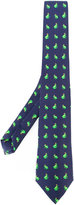 fe-fe printed frogs bow tie - unisex - Silk - One Size