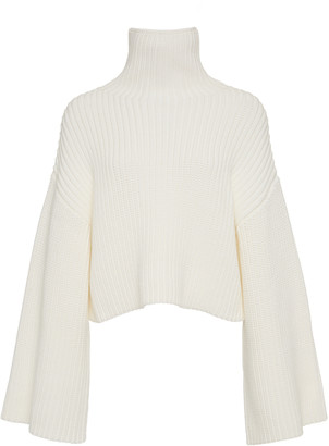 LAPOINTE Ribbed-Knit Turtleneck Sweater