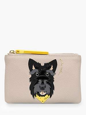 Radley & Friends Dogs Trust Leather Small Zip Top Coin Purse